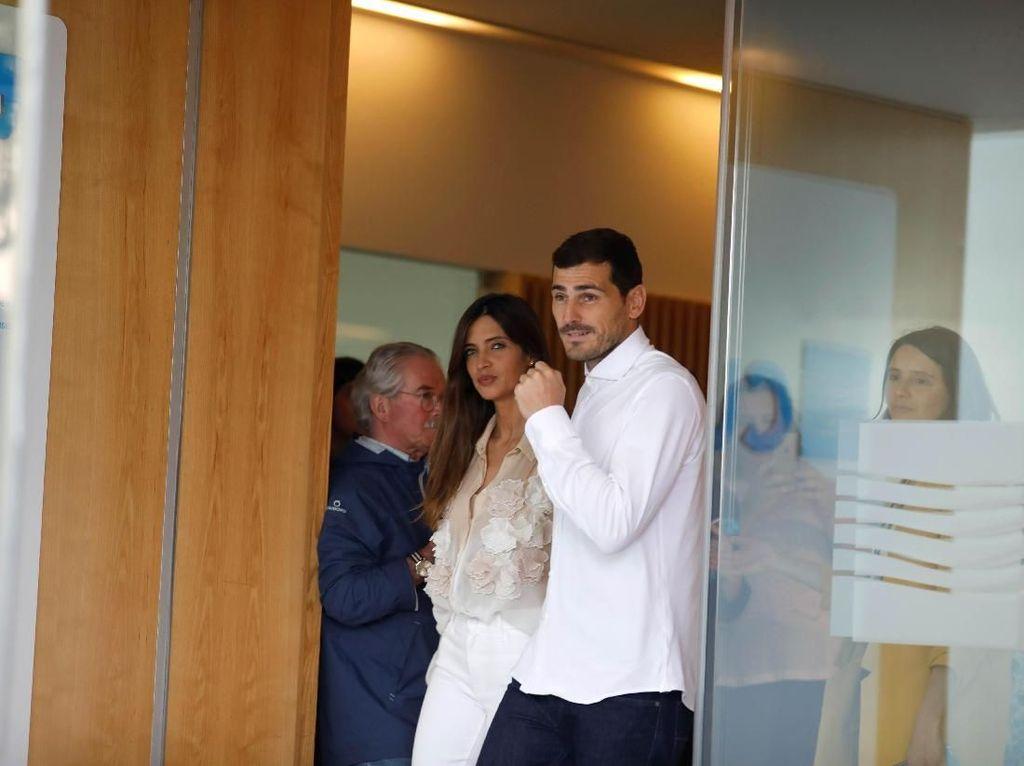 Hore! Casillas Sudah Keluar dari Rumah Sakit