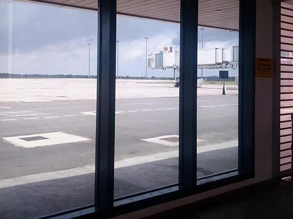 Penampakan Bandara Sri Lanka yang Paling Sepi di Dunia