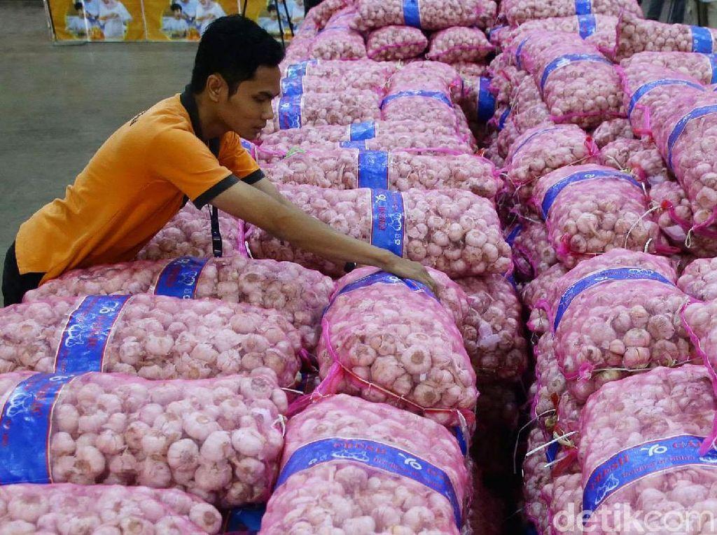 Tekan Harga, RI Impor Lagi Bawang Putih 125.000 Ton