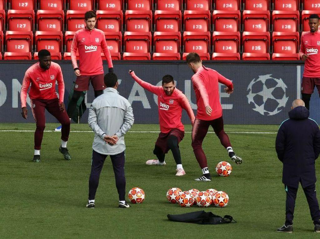 Liverpool Tanpa Salah dan Firmino, Kata Siapa Barcelona Bisa Santai?