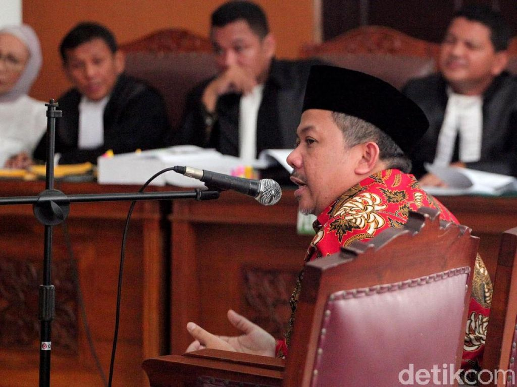 Ditanya Hakim soal Alasan Ratna Bohong, Fahri Hamzah: Saya Nggak Tertarik