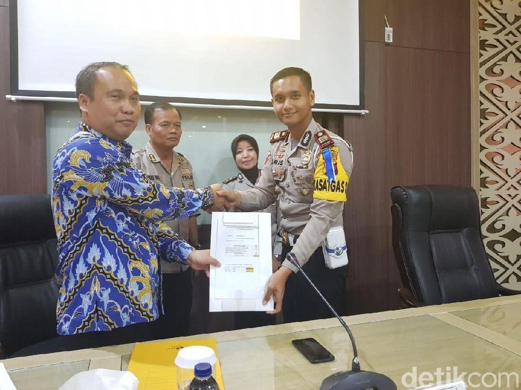 Pelayanan Publik Polres Bojonegoro Sabet Penghargaan Ombudsman RI