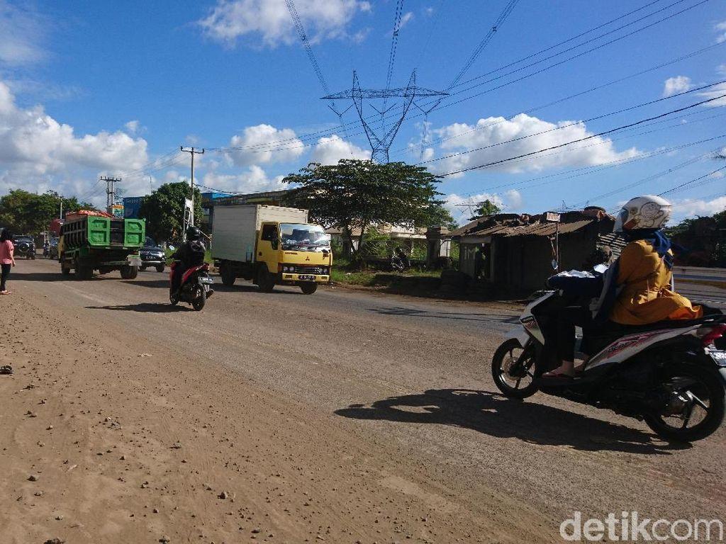 Jalur Mudik Serang-Cilegon Bergelombang