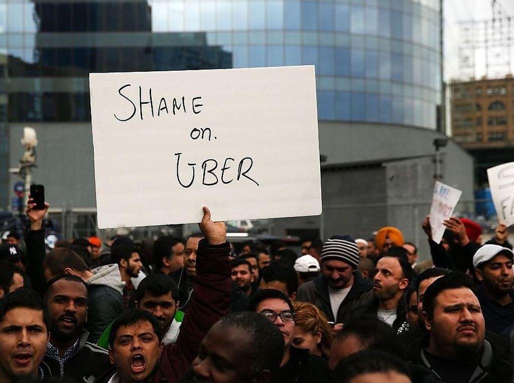 Jelang IPO, Uber Terancam Diboikot Driver