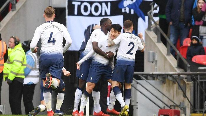 Tottenham Hotspur tak gentar sambangi markas Ajax Amsterdam. (Foto: Laurence Griffiths/Getty Images)