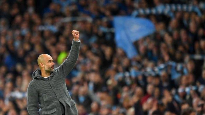 Manajer Manchester City, Josep Guardiola. (Foto: Michael Regan/Getty Images)