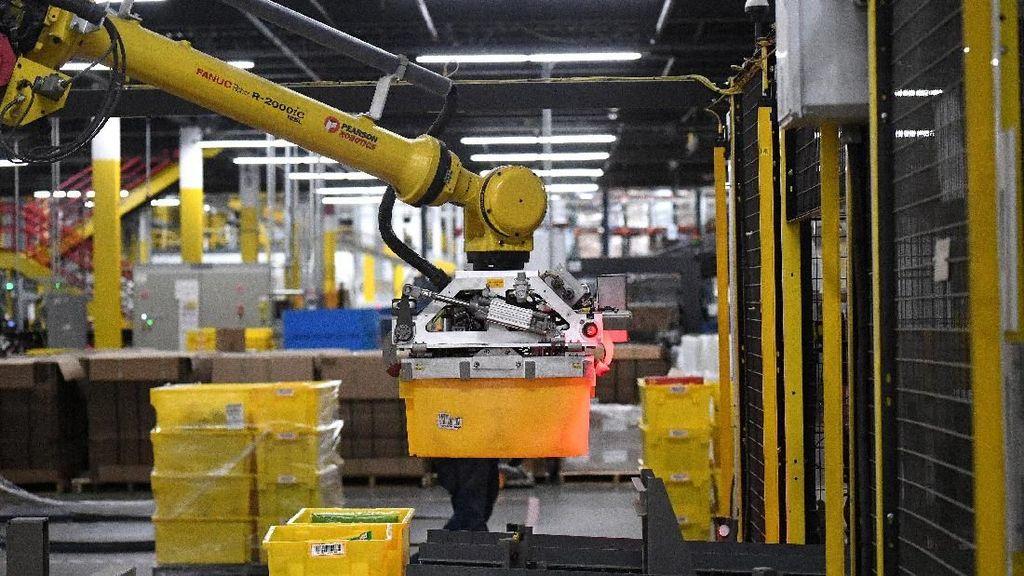 Ancaman Robot di Gudang Toko Online Terbesar Dunia