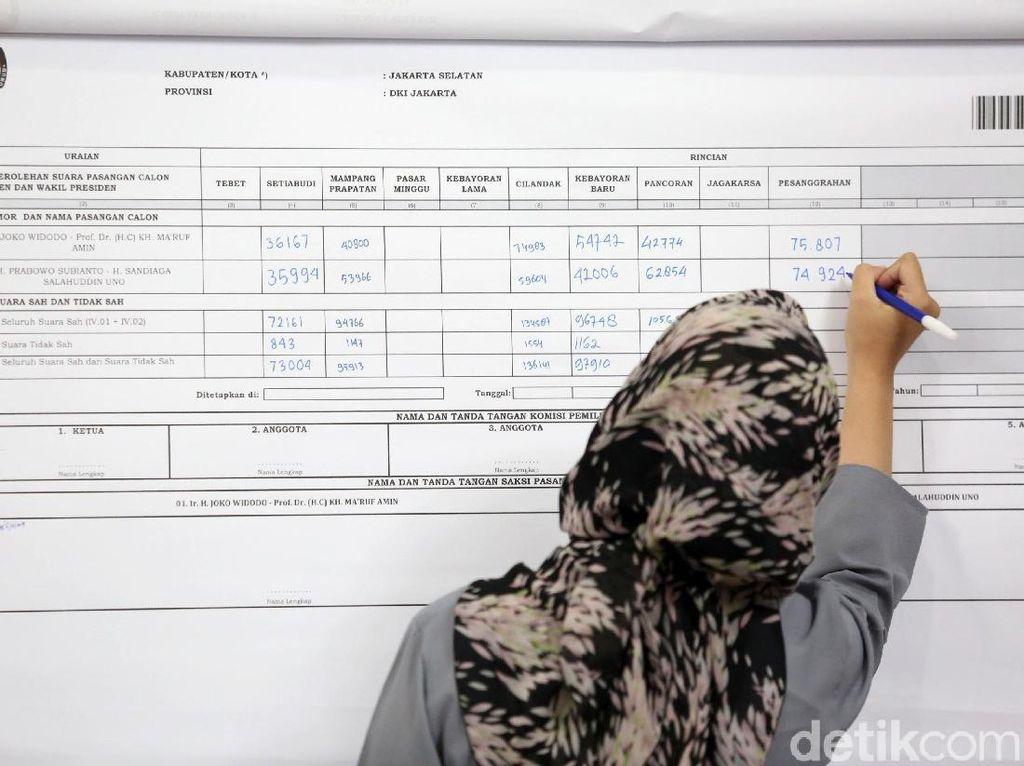 Melihat Proses Rekapitulasi Suara Tingkat Kota Jakarta Selatan
