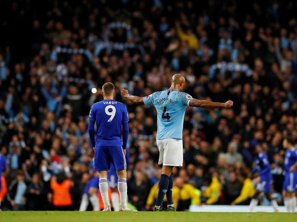 Man City vs Leicester: City Sudah Kalahkan Semua Lawannya