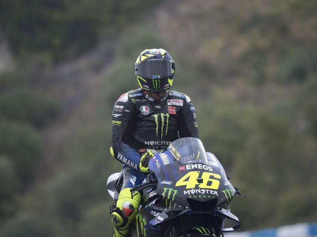 Rossi: Hasil Tes di Jerez Tak Sampai Mengubah Hidup