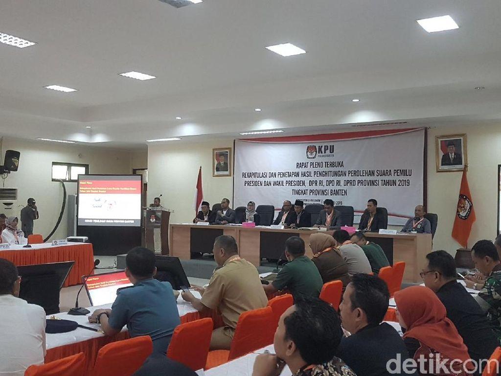 KPU Banten Mulai Rekapitulasi Meski Tanpa Suara dari Tangerang Raya