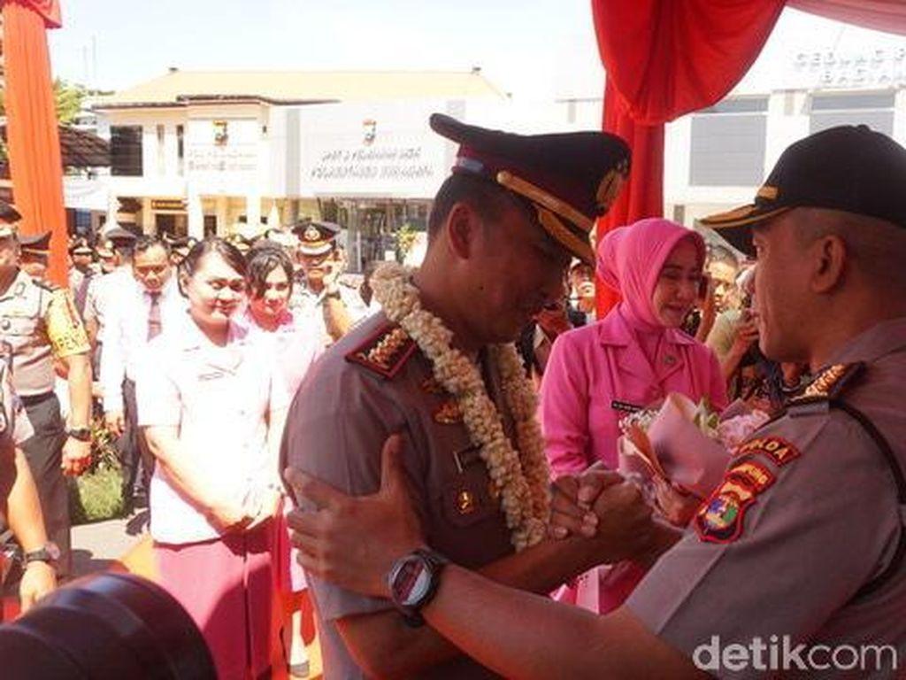 Pesan Kombes Rudi Setiawan untuk Kapolrestabes Surabaya yang Baru