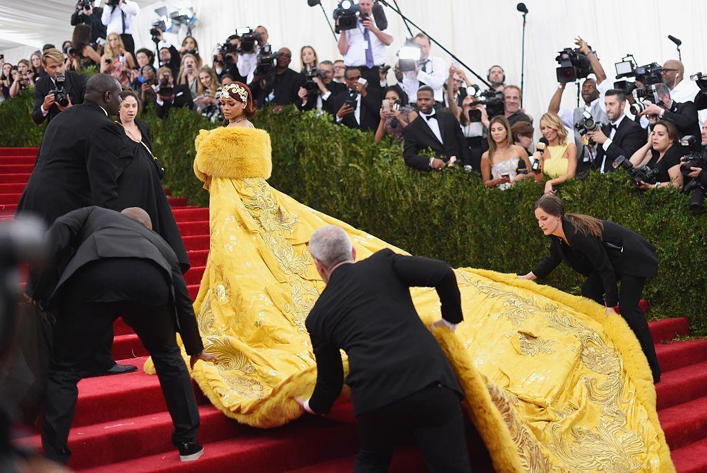 NEW YORK, NY - MAY 11:  Rihanna attends the