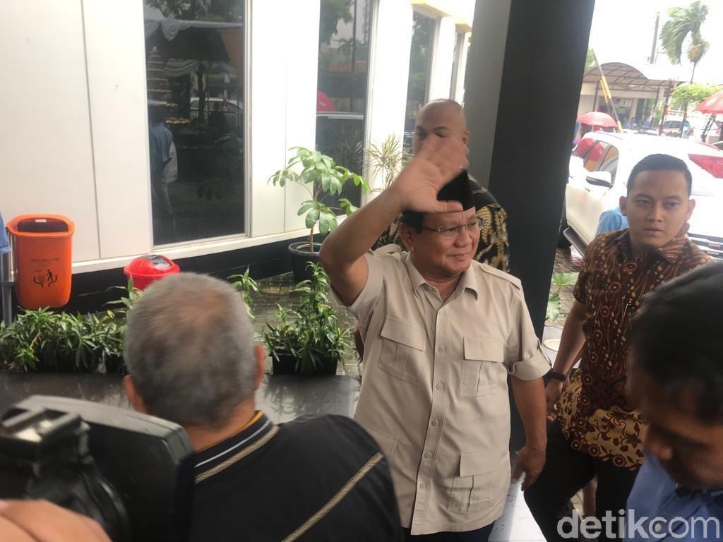 Prabowo Sambangi Kantor DPP PKS, Akan Simak Paparan Statistik Pemilu