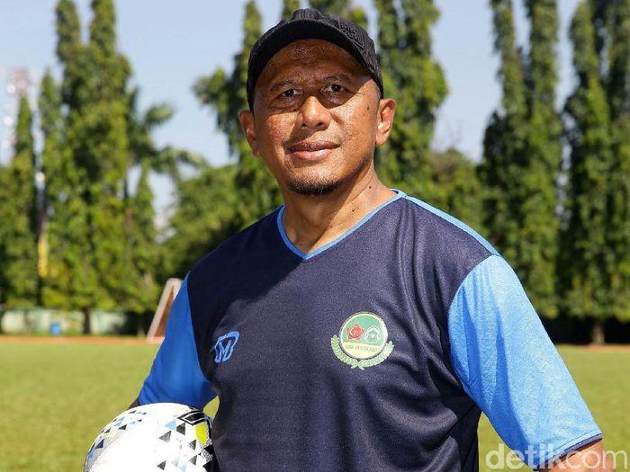 Pelatih Tira Persikabo, Rahmad Darmawan. (Foto: Grandyos Zafna/detikcom)