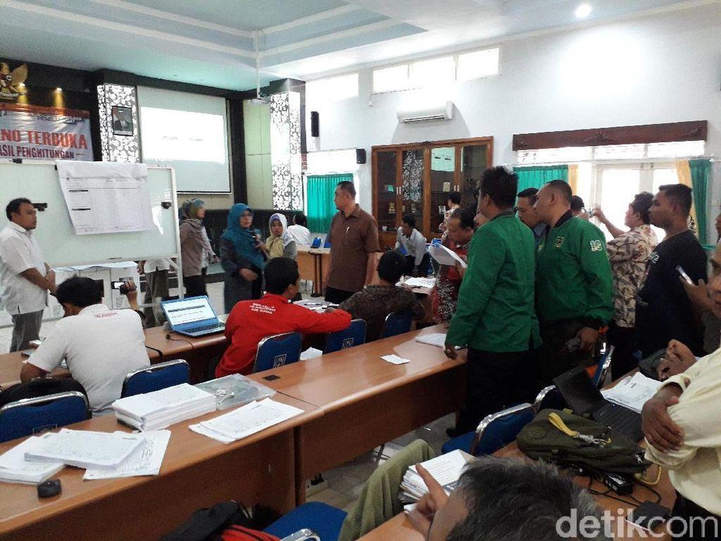 PPP Sebut Kehilangan 1.508 Suara, Pleno KPU Sleman Berjalan Alot