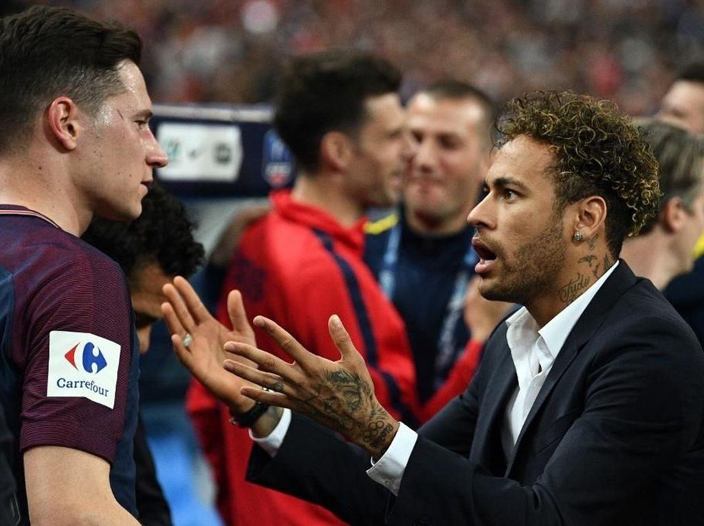 Ruang Ganti PSG Panas: Neymar dan Draxler Nyaris Berkelahi