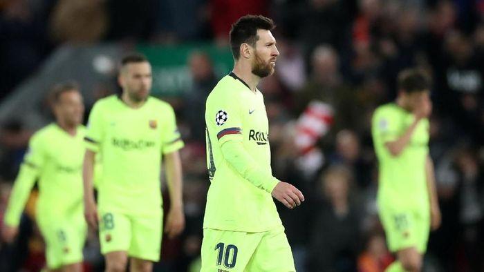 Pep Guardiola menilai Barcelona masih merupakan tim yang ditakuti di Eropa (Foto: Carl Recine/Action Images via Reuters)