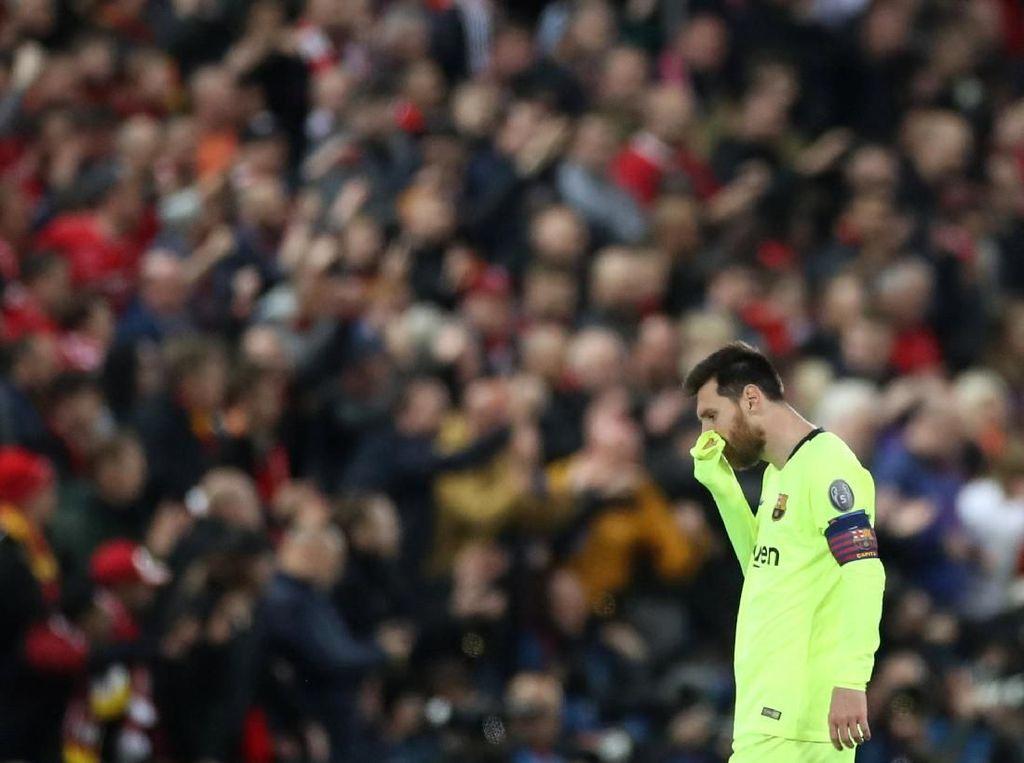 Messi ke Fans Barcelona yang Marah: Aku Salah Apa?