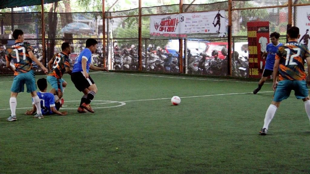 Serunya Turnamen Futsal Fortami 2019
