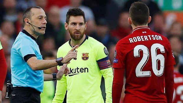Barcelona tersingkir di semifinal <a href='https://uzone.id/tag/liga-champions' alt='Liga Champions' title='Liga Champions'>Liga Champions</a> 2018/2019.