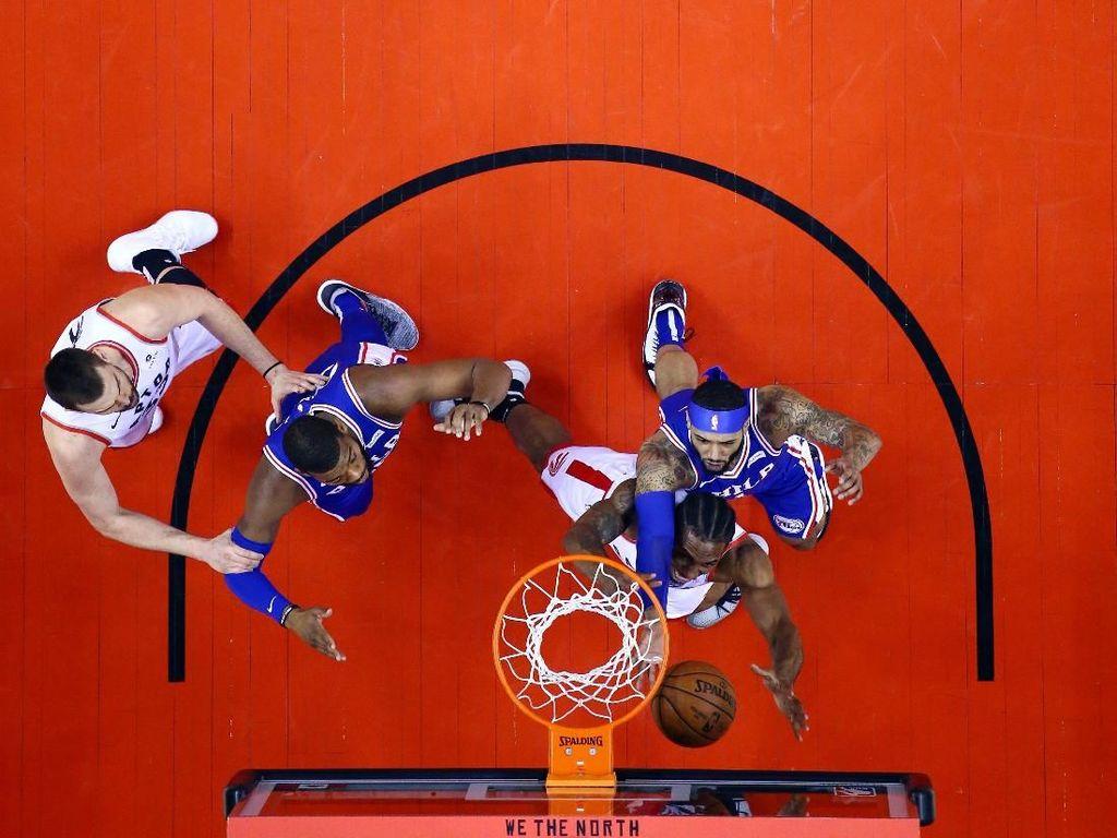 Hasil NBA: Menang Besar, Raptors Berbalik Ungguli Sixers 3-2