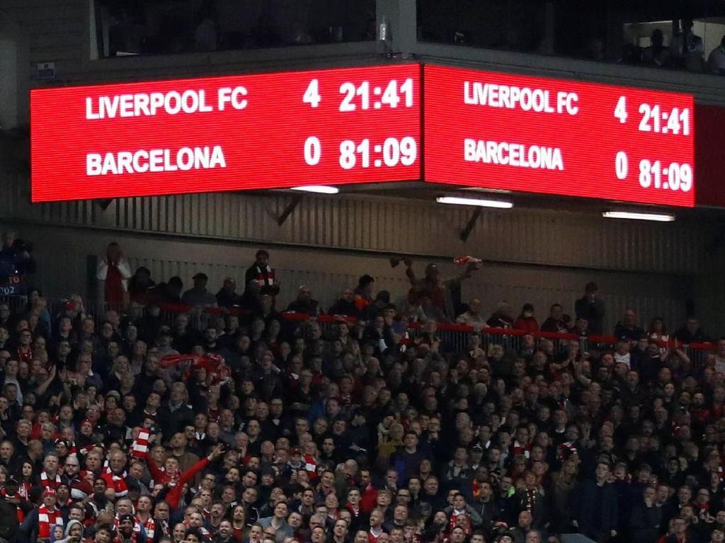 Tawa-Tangis pada Malam Spesial di Anfield