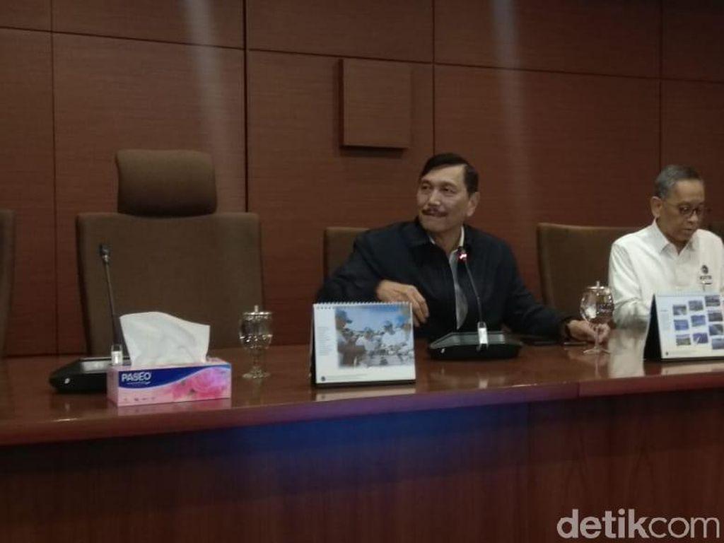 Luhut Tanggapi Kabar 108 Purn TNI/Polri akan Ikut Aksi 22 Mei