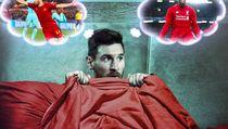 Meme Comeback Dramatis Liverpool dan Messi yang Terkulai