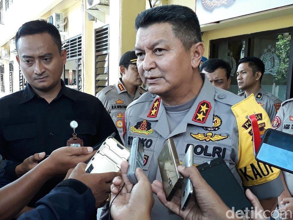 Polisi Rekonstruksi Proyektil Penembakan Mako Brimob Purwokerto