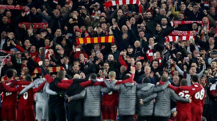 Anfield dinilai menakutkan untuk lawan-lawan yang datang (Carl Recine/Action Images via Reuters)