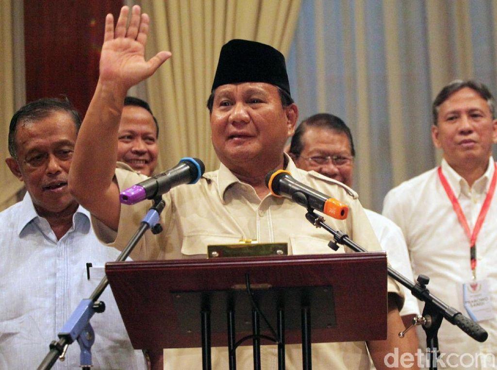 Deja Vu Manuver Prabowo Usai Pilpres 2014 dan 2019