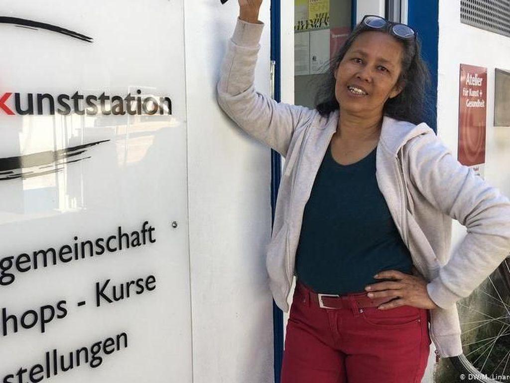 Melukis di Jerman dengan Jiwa dari Tanah Air