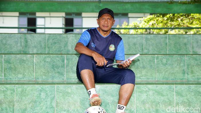Rahmad Darmawan menyesali medali perak SEA Games 2011. (Grandyos Zafna/detikSport)