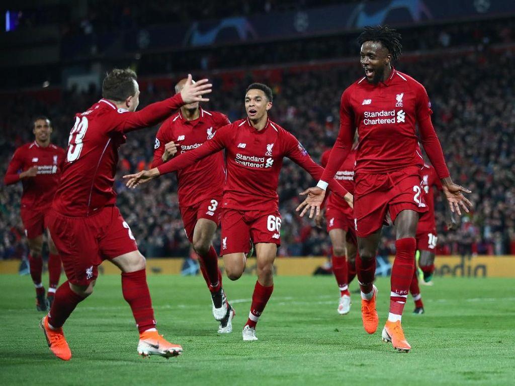 Hajar Barcelona 4-0, Liverpool ke Final Liga Champions