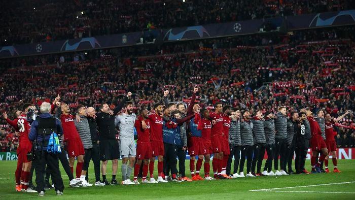 Liverpool berlatih dua pekan di Marbella, Spanyol sebelum final Liga Champions (Clive Brunskill / Getty Images)