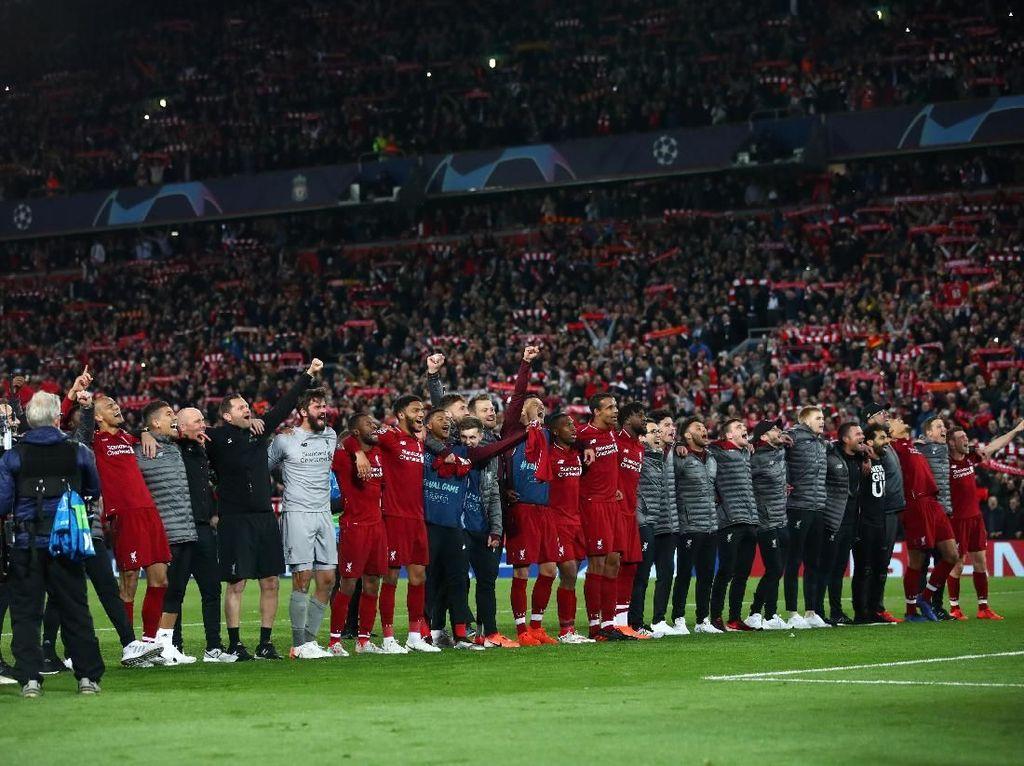 Liverpool vs Barcelona: Si Merah Masuk Daftar Eksklusif