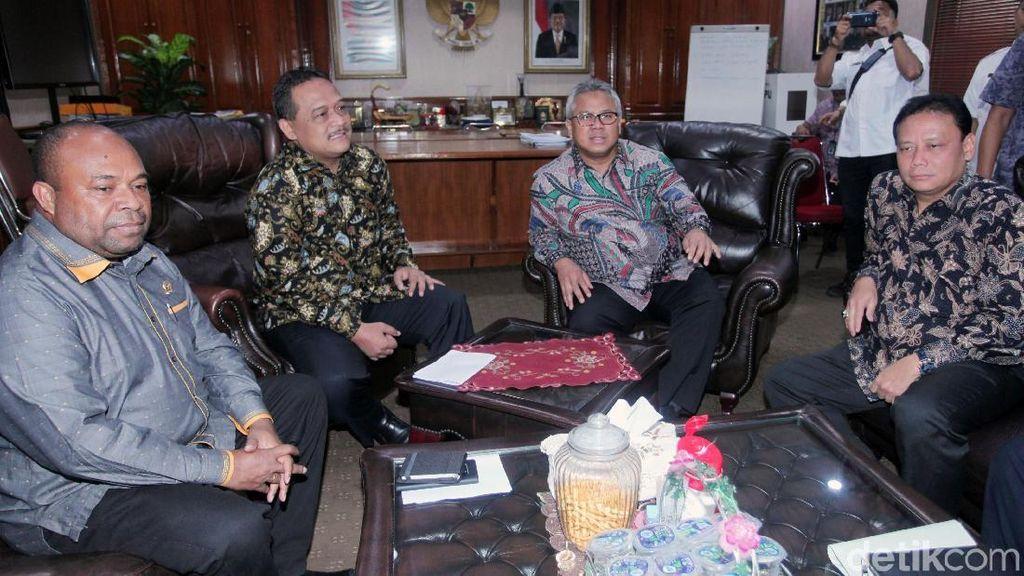 Komite I DPD Tinjau Langsung Situng KPU
