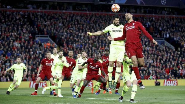 Barcelona tersingkir dari Liverpool dari semifinal Liga Champions. (