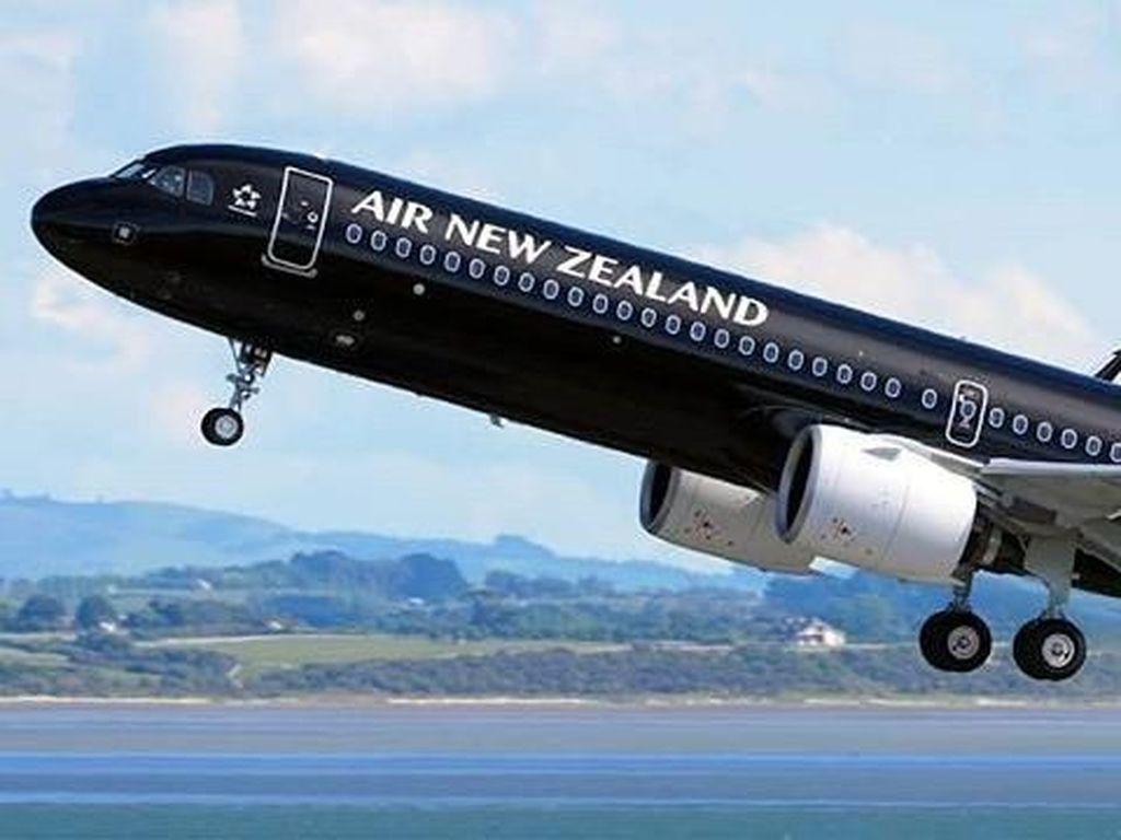 Penumpang Sakit Diusir dari Penerbangan Selandia Baru