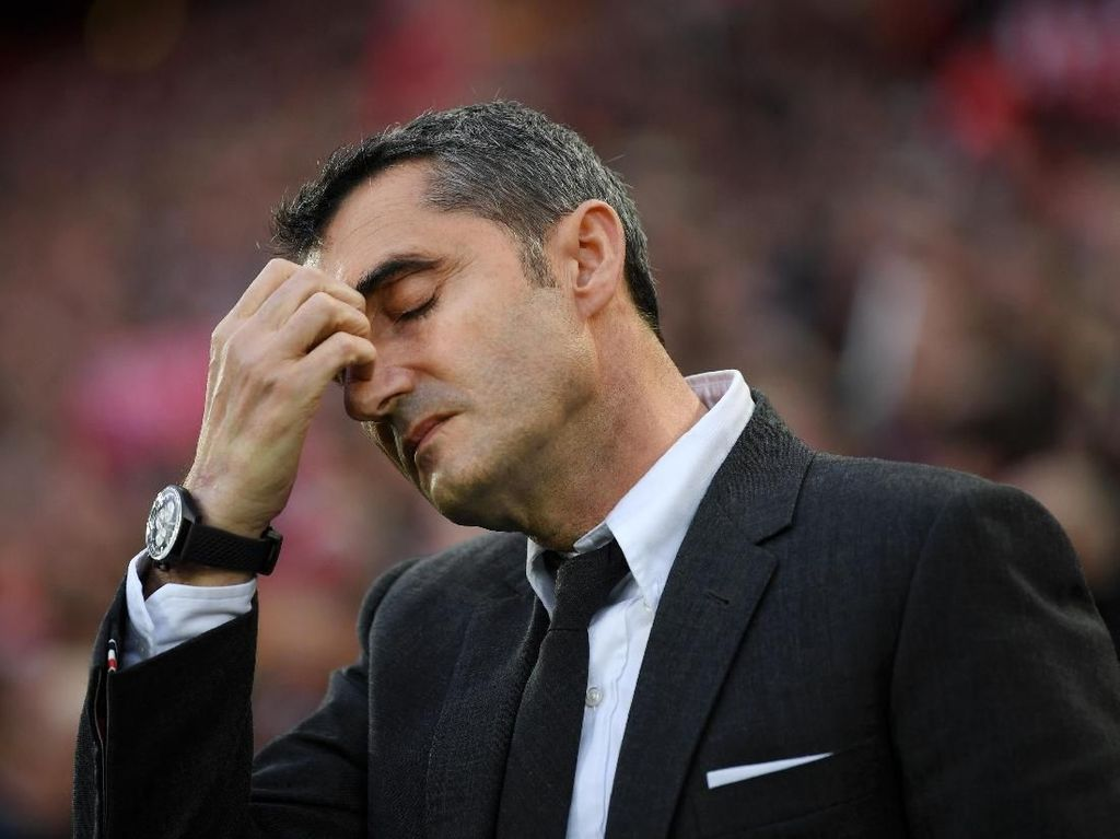 Barcelona Kembali Dihantam Comeback, Valverde: Sungguh Menyakitkan