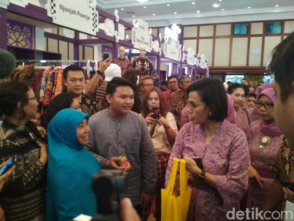 Serbu! Kementerian Keuangan Gelar Pameran Batik hingga Ikan Beku