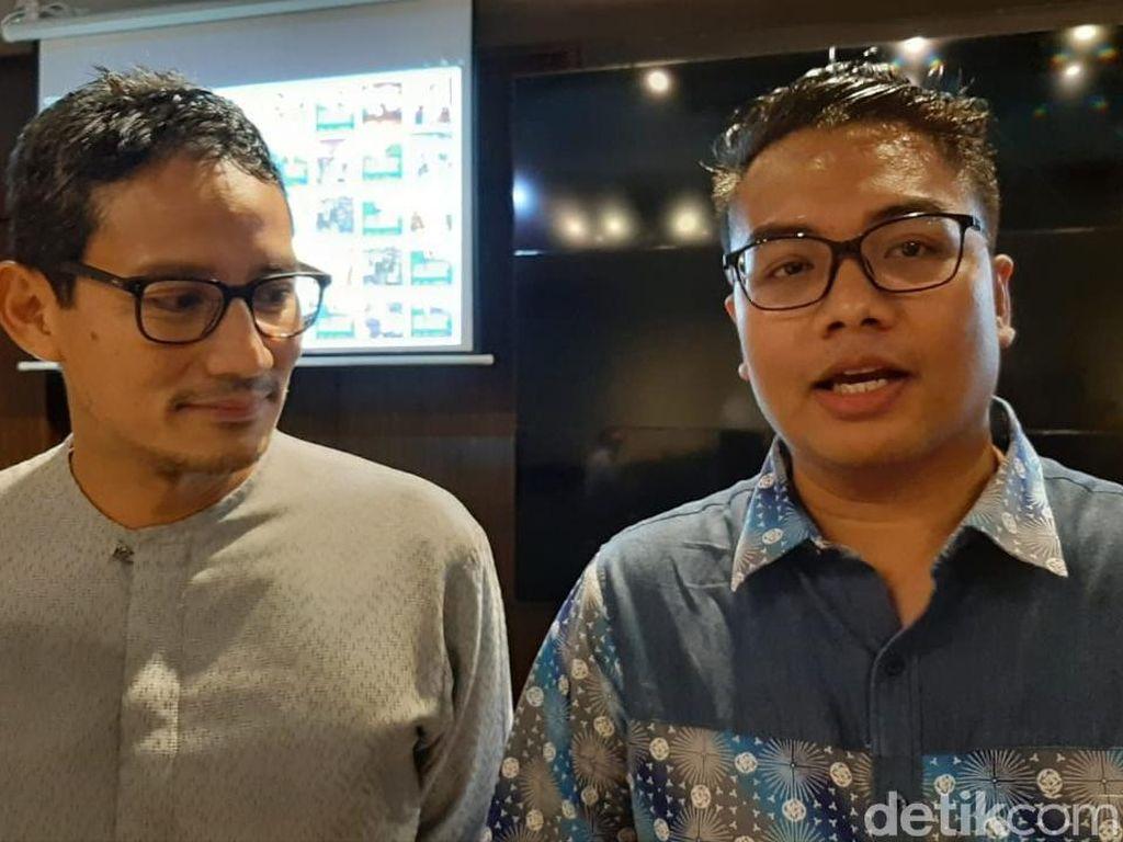TKN Jokowi Pamer Real Count 80 Juta Suara, Sandiaga: Tunggu Hasil Akhirnya