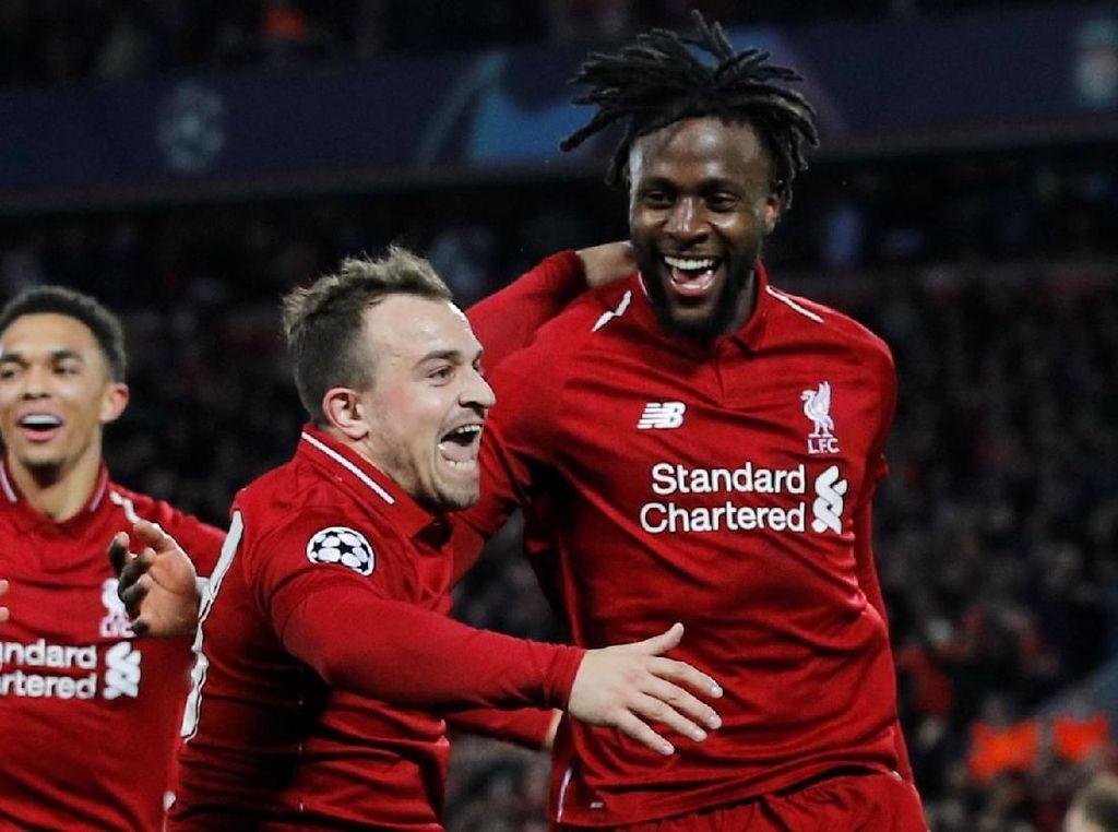 Tunggangan Divock Origi, Sang Penentu Kemenangan Liverpool