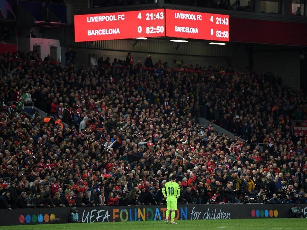 Hantu Comeback Barcelona: Dulu Roma, Kini Liverpool