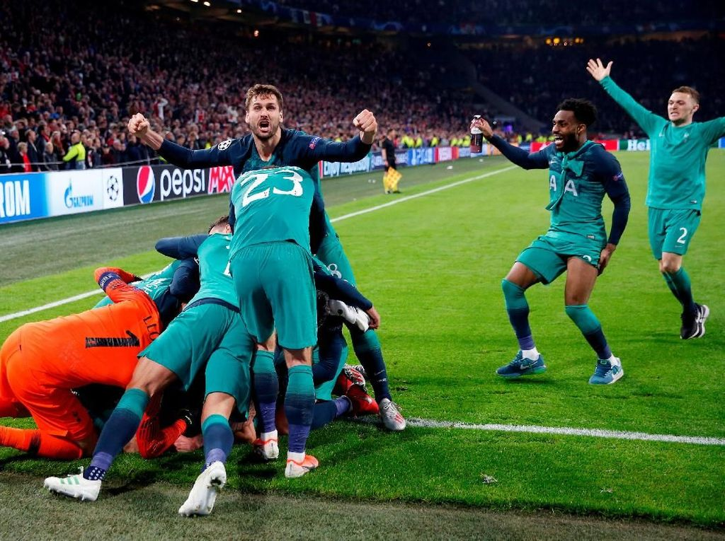 Nyaris Tersingkir di Fase Grup, Tottenham Kini ke Final Liga Champions