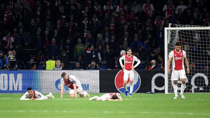 Ajax tersingkir di semifinal Liga Champions. (Foto: Piroschka Van De Wouw/REUTERS)
