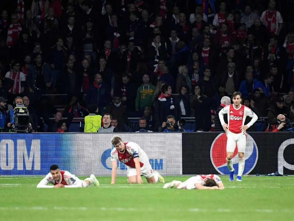 Akhir Sedih Dongeng Ajax di Liga Champions