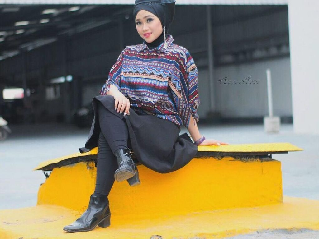 Ini Penampilan 4 in 1 Hijabers Brebes di Audisi Sunsilk Hijab Hunt 2019
