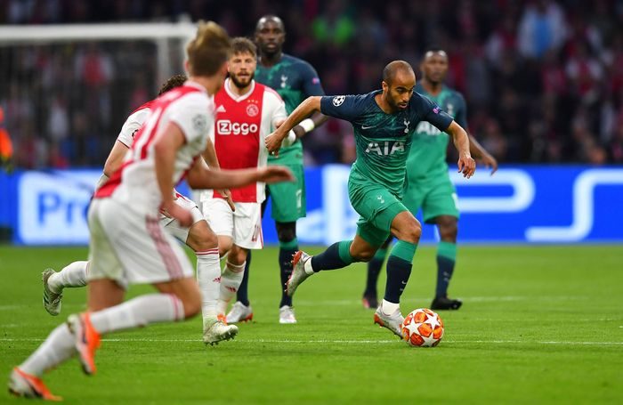 Leg kedua semifinal antara Tottenham Hotspur vs Ajax Amsterdam digelar di Johan Cruyff Arena, Kamis (9/5/2019) dini hari WIB. Reuters/Dylan Martinez.